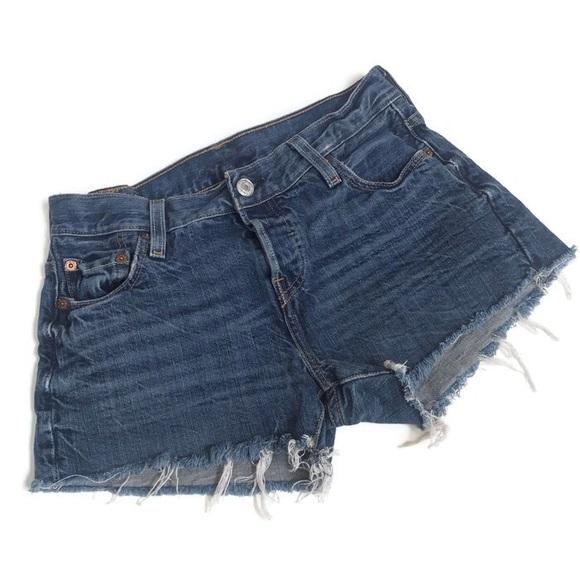 faaf6c8e0 Levi's Shorts | Levis Classic Denim Cut Off 501 Jean 24 | Poshmark